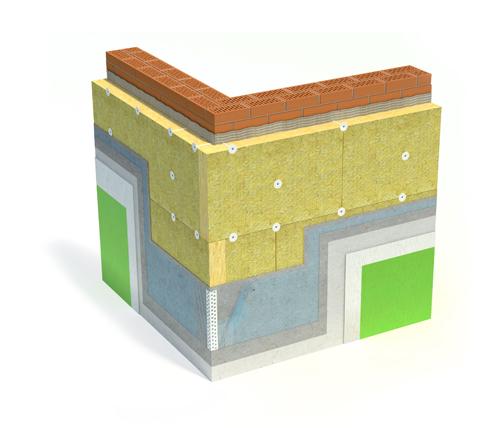 Штукатурный фасад, утепление