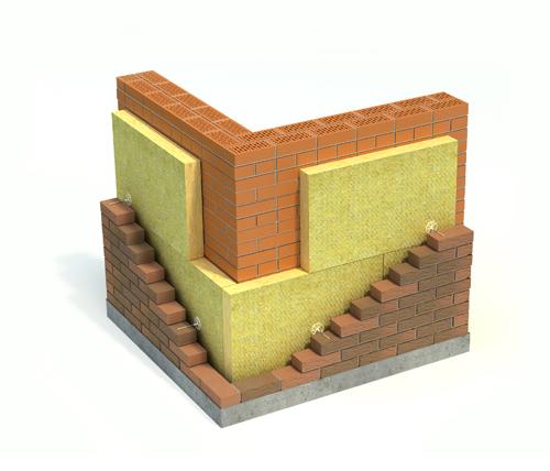 Утепление в слоистой кладке